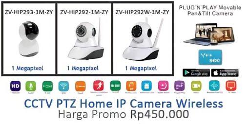 Promo PTZ Home IP Wireless Camera