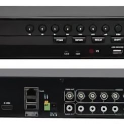Secure 1008 Hybrid DVR 8 Channel