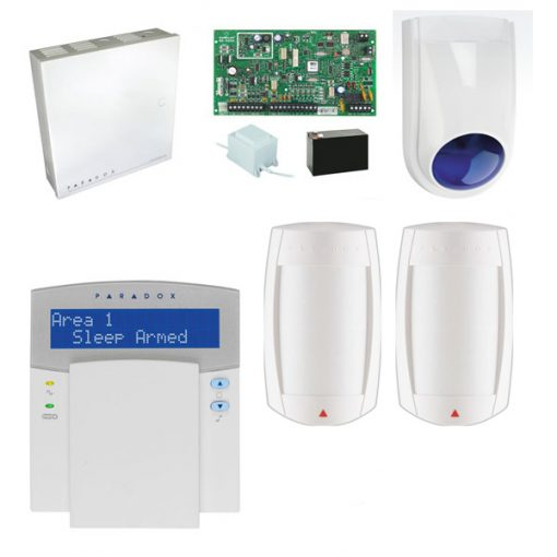 Paradox SP6000 Alarm System Including: K32 LED Codepad