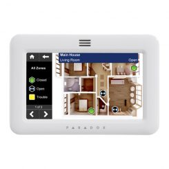 Paradox TM50 5″ Interactive Touchscreen Alarm Keypad
